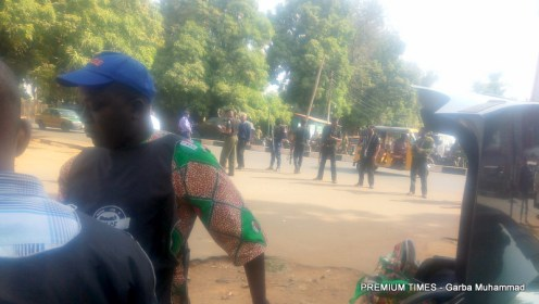 NLC protests in Kaduna amidst massive security presence