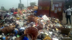 File photo of Lagos struggles to stay afloat an ocean of refuse