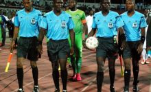 Nigerian Referees used to illustrate the story. [Photo credit: GNN Liberia]