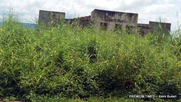 Overgrown Waste Management Plant [Photo taken by Kemi Busari]