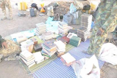 Boko haram books seized