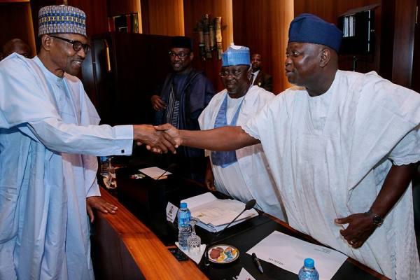 Buhari greets Ambode