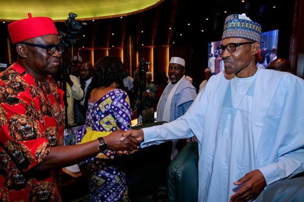 Fayose greets Buhari