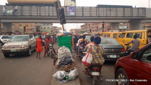 A refuse heap at Ojuelegba used to illustrate the story.