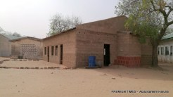 Front view of girls dormitory GGSTC DAPCHI from where the girls were abducted by BHT