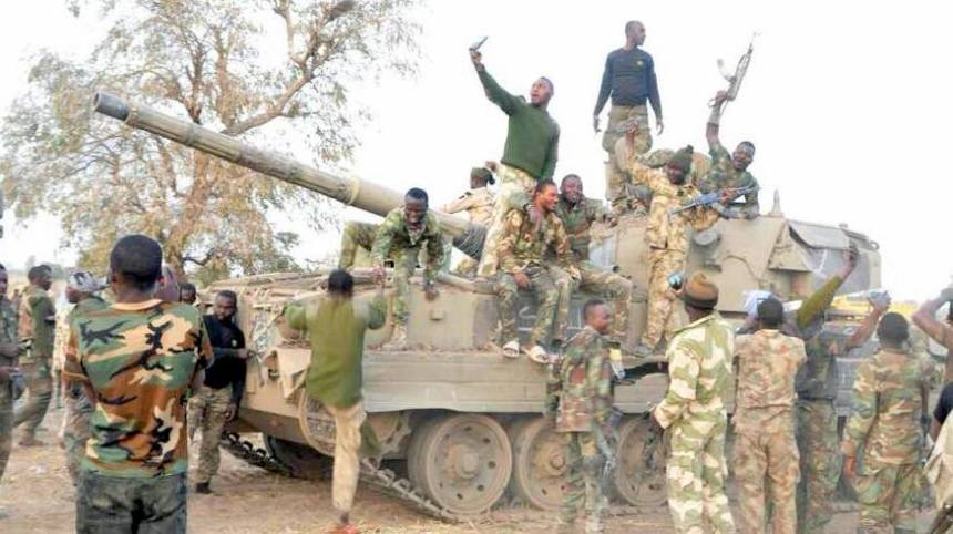 Image result for Boko haram tanks