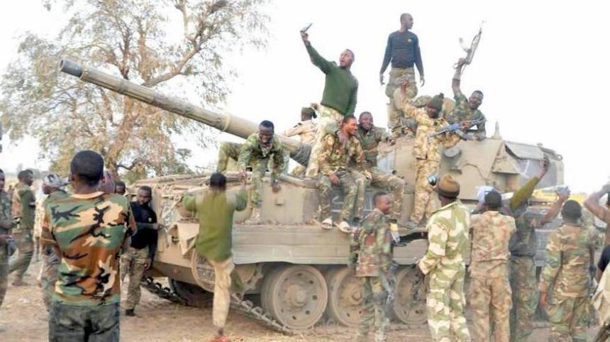 Image result for Boko haram tanks