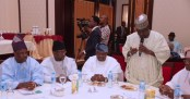 PRESIDENT BUHARI CHAIRS 4TH NAT APC CAUCUS MEETING 7A
