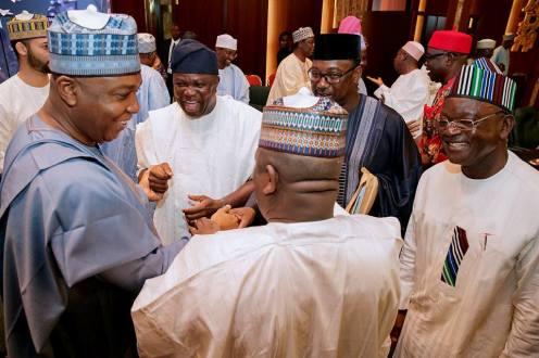 Saraki and Nigerian governors