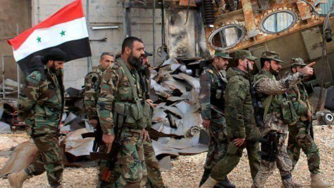 Syria forces used to illustrate the story [Photo credit: Al-Masdar News]