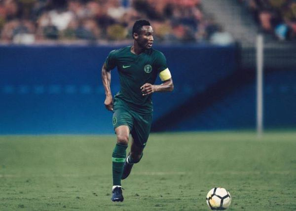 Mikel Obi stuns in New Super Eagles kit