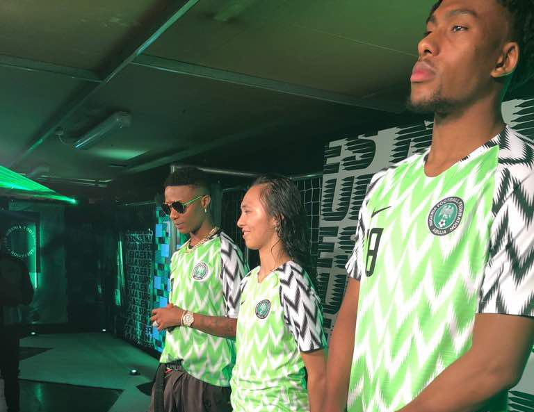 bb9ed99ff53 24 days to Russia 2018: Eagles and their World Cup jerseys. May 21, 2018  Jide Alaka. New Super Eagles kit