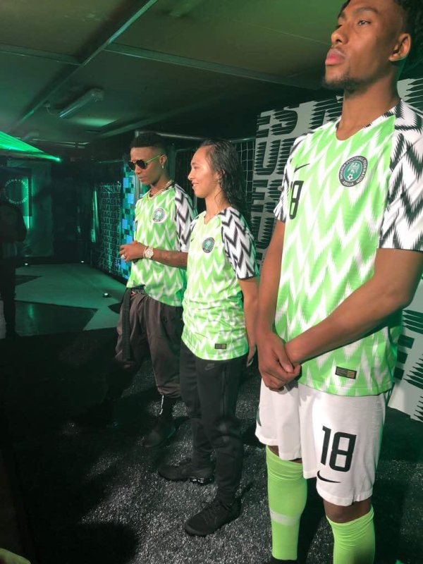 New Super Eagles kit