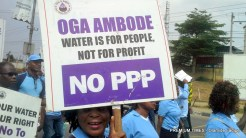 World Water Day: Groups protest Lagos govt's planned water privatisation