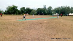 Actions during the finals of the match. Imo state batted 150 runs to win the championship 2