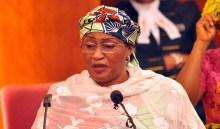 Minister of Women Affairs and Social Development, Aisha Al-Hassan. [Photo credit: DailyPost]