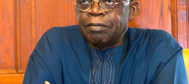 Former Lagos state governor, Bola Tinubu. [Photo credit: THISDAYLIVE]