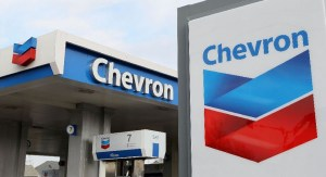 CHEVRON logo used to illustrate the story. [Photo credit: Guardian Nigeria]