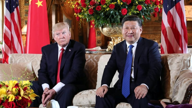 U.S. President, Donald Trump and Chinese Premier, Xi Jinping (Photo Credit: al Jazeera)