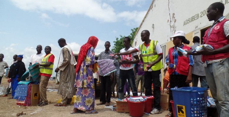 An IDPs Camp in Adamawa used to illustrate the story