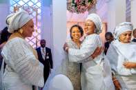 Osinbajo, wife, Aisha Buhari, governors, ministers attend wedding reception of Ajimobi's son to Ganduje's daughter