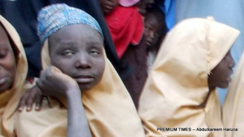 One of the freed Dapchi girls, Khadija Grema