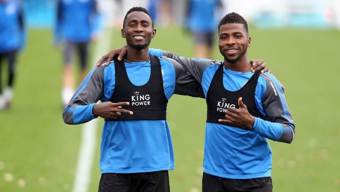 Image result for wilfred ndidi and kelechi iheanacho