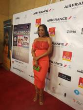 ACTRESS DAKORE AKANDE ON THE RED CARPET
