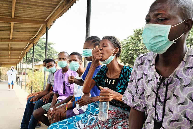 TB Patients receiving treatment. (Photo Credit: Damien Foundation)