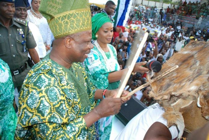 African Drum Festival in Abeokuta
