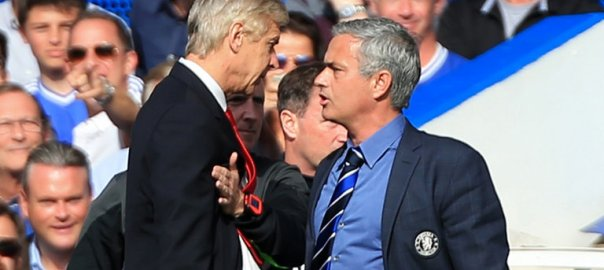 Arsene Wenger and Jose Mourinho (Photo Credit: SkySports)