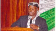 Ishaq Akintola, director and founder of Muslim Rights Concern (MURIC) [Photo credit: Ishaq Akintola's Facebook page]