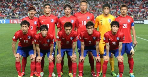 South Korea football team