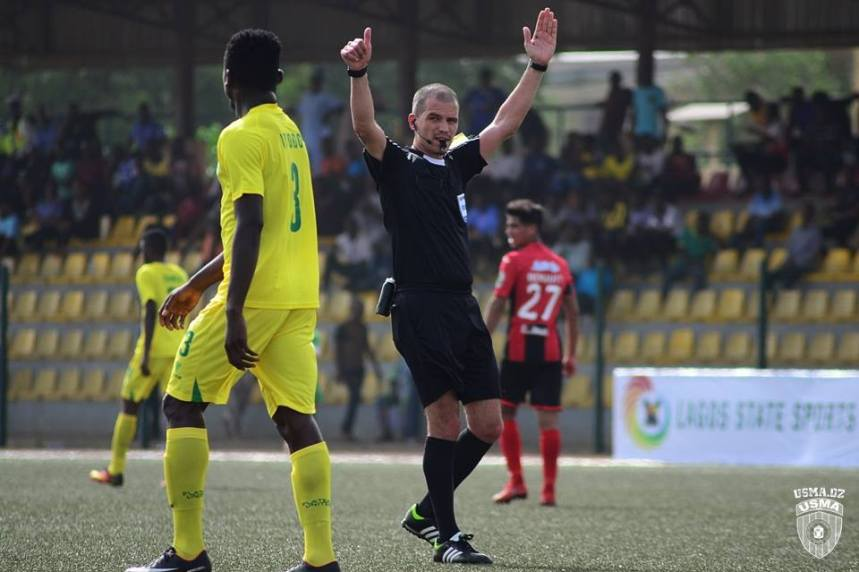 Plateau United, have been dumped out of the CAF Confederation Cup following their 4-0 defeat away to USM Alger of Algeria on Tuesday