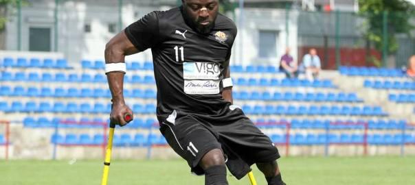 Special Eagles (Nigeria's Amputee Football Team) player Bamgbopa Abayomi