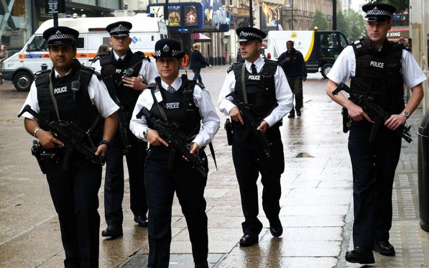 London Metropolitan Police (Photo Credit: Greek Reporter Europe)