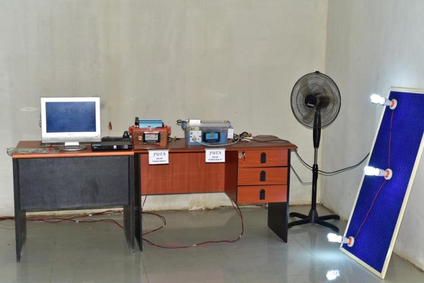 FUTA announces development of solar-powered generator