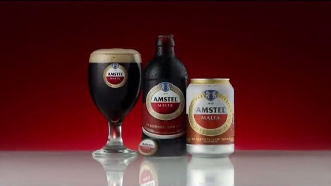 Amstel Malta to illustrate the story