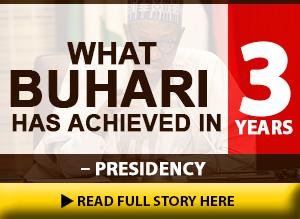 Buhari's Achievements Advert