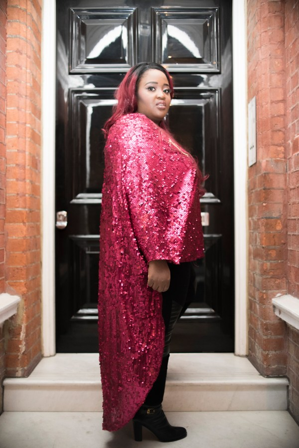 Temi Aboderin Alao is a fashion designer and the CEO of the Golden Curvy Agency.