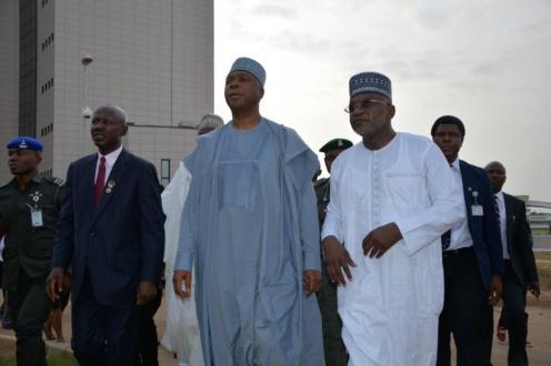 Saraki visits new EFCC headquarters, pledges support