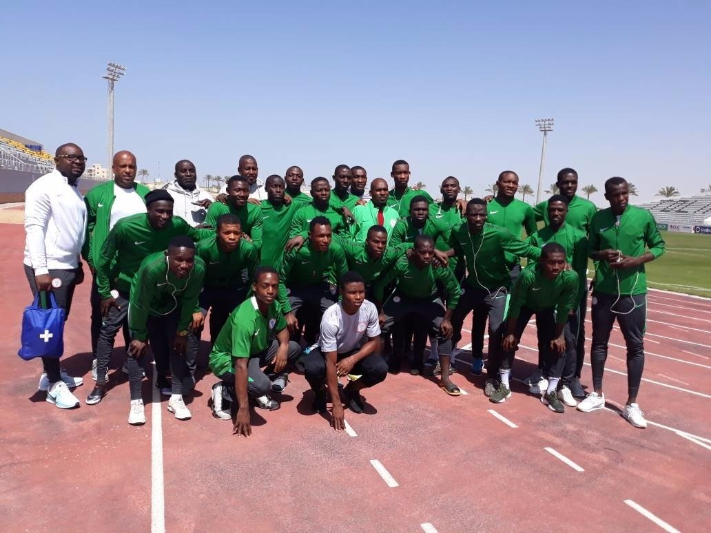 Flying Eagles play 2-2 draw with Guinea Bissau in AFCON qualifiers