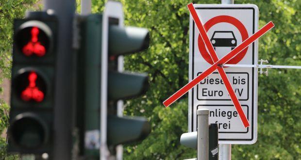 Hamburg becomes 1st German city to ban diesel vehicles