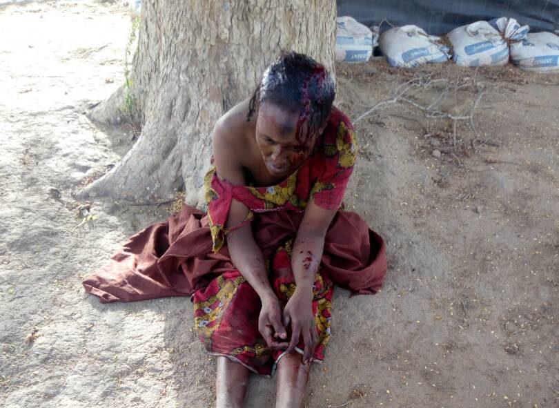 A female Boko Haram suicide bomber