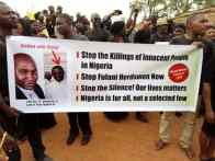 Kaduna christians hold peaceful protest against killings