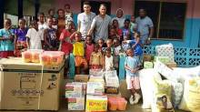 Super Eagles duo donate to orphanage