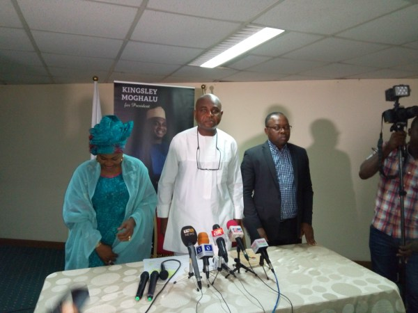 Kingsley Moghalu picks party for 2019 presidential election