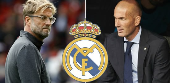 Zidane and Klopp