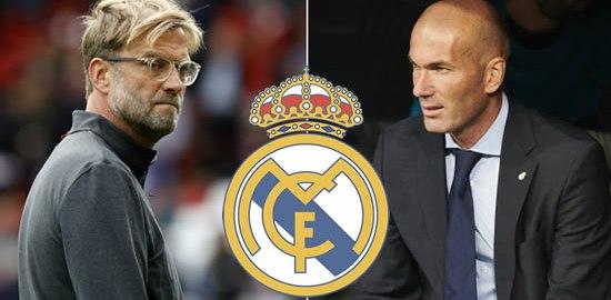 Zidane and Klopp
