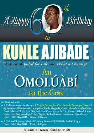 Kunle Ajibade Advert